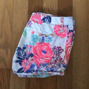 Old Navy kid's floral shorts